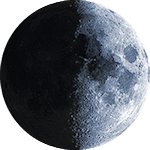 Lunar phase - 10. day