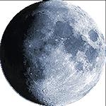 Lunar phase - 12. day