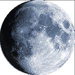 Lunar phase - 13. day