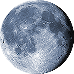 Lunar phase - 18. day