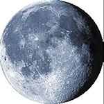 Lunar phase - 19. day