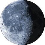 Lunar phase - 21. day