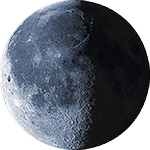 Lunar phase - 22. day
