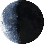 Lunar phase - 23. day