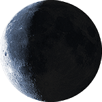 Lunar phase - 24. day
