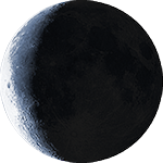 Lunar phase - 25. day