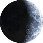 Lunar phase - 8. day