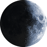 Lunar phase - 9. day